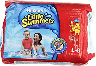 Huggies Little Swimmers Disposable Swimpants Large, Pack of 2