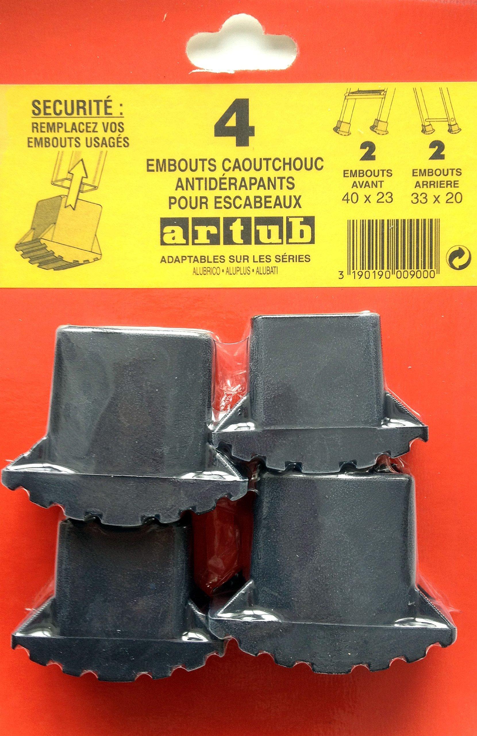 ESCANOR 23010160 Contera Escalera Domestica / Profesional (Juego 4 piezas): Amazon.es: Bricolaje y herramientas