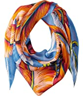 Echo Design - Palm Silk Triangle Scarf