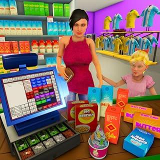 Supermarket Cashier Simulator: Shopping Games