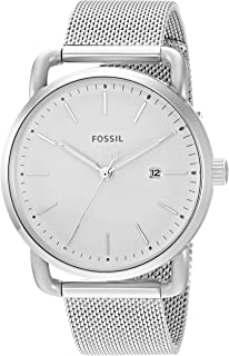 Fossil Womens Silvertone Small Round Face Bracelet Watch