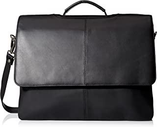 Visconti Leather Business Case Bag/Briefcase/Handbag Large, Black