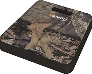 Allen Company - Vanish Hunting Foam Seat Cushion, Extra Thick 13 x 14 x 2 inches - (Mossy Oak Country, Realtree Edge, Oliv...