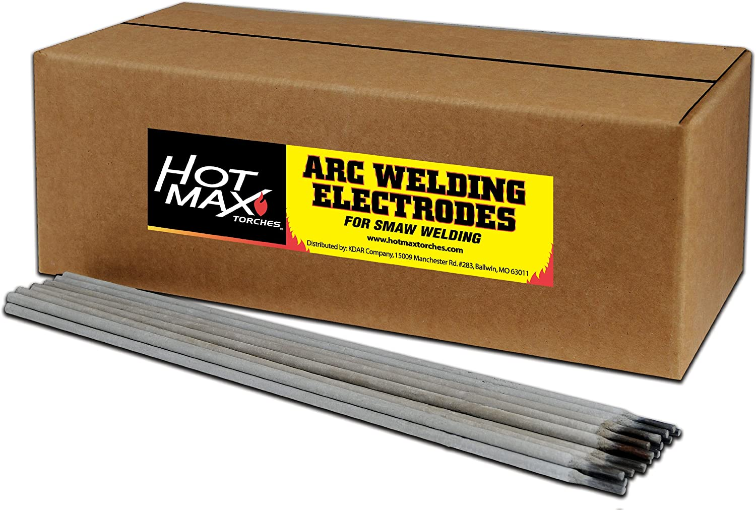 Hot Max 23048 1 8-Inch ARC E7014 5 ☆ very popular Electrodes 50# Welding Outstanding
