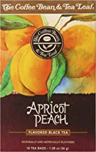 The Coffee Bean & Tea Leaf Apricot Peach Tea, 18 Count (Pack of 6)
