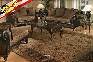 Amazon.com: Traditional - Living Room Sets / Living Room Furniture ...