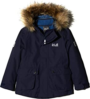 Jack Wolfskin Girl's G Elk Island 3-in-1 Parka Waterproof Insulated System-Zip Jacket