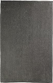 IKEA TOFTBO Microfiber Bath Mat - 35 x 24 | 1.25 Thick - Ultra Soft Super Absorbent Fast Dry (1, Gray)