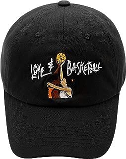 Love and Basketball Dad Hat Cotton Baseball Cap Adjustable Baseball Caps Unisex