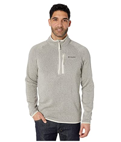 Columbia Canyon Pointtm Sweater Fleece 1/2 Zip (Dark Stone) Men