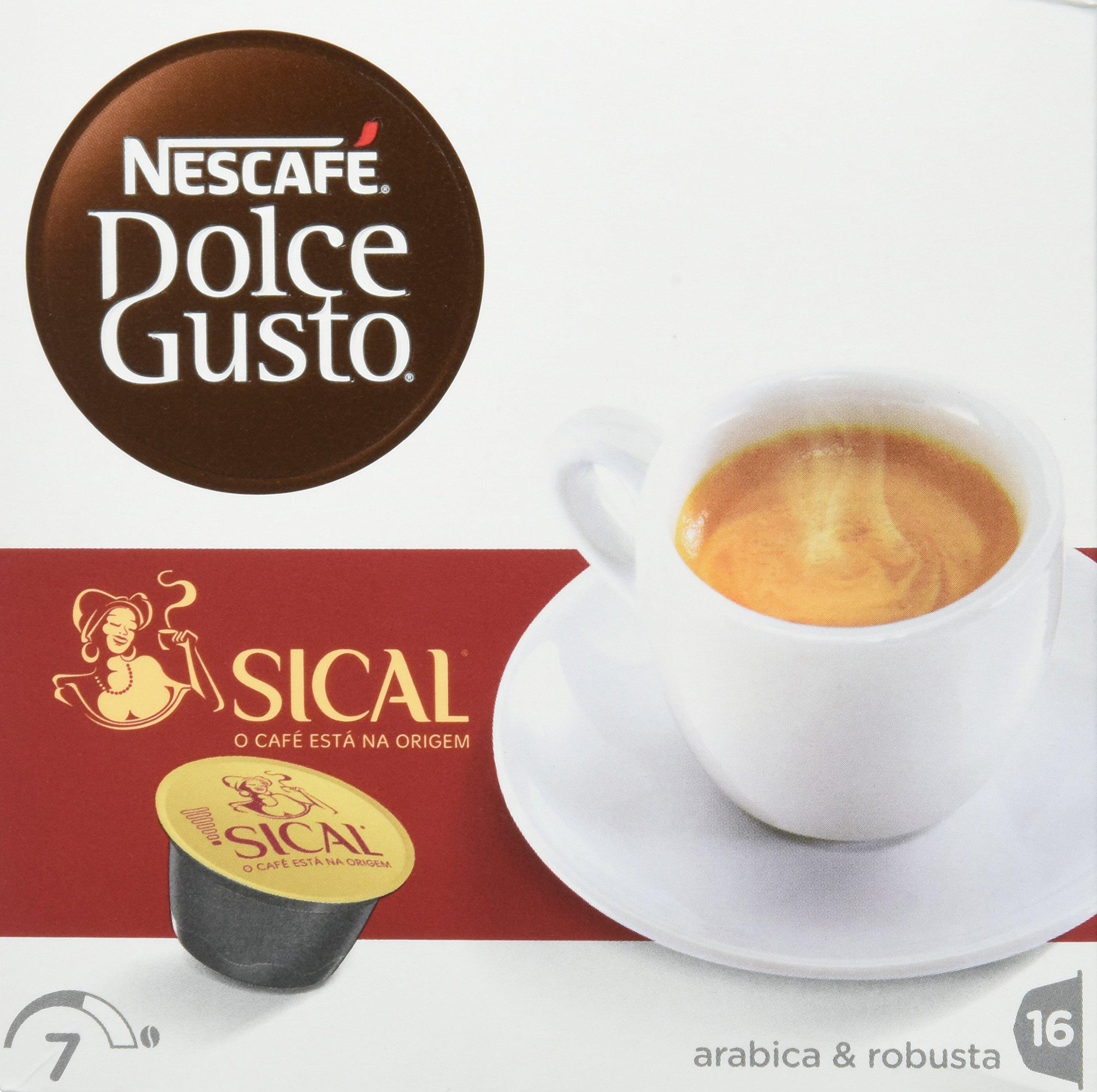 Nescafé Sical - bolsitas y cápsulas de café (Cápsula de café, Café ...