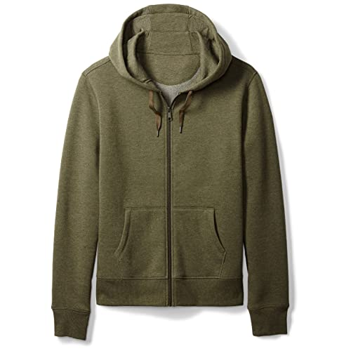Amazon Essentials Men s Standard Full-Zip Hooded Fleece Sweatshirt f4fa0688e
