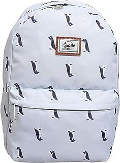 Lembu School Backpack Kids Bag Travel Back to School Men Women Unisex Lightweight Basic Simple Comfortable Fashion Bag (Penguin)