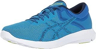 ASICS Mens Nitrofuze 2 Running Shoe, Hawaiian Surf/Indigo Blue/Energy Green, 9 Medium US
