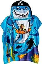 Northpoint Monster Truck Kids Toalla de Playa con Capucha para niños, Tradicional, Pirate Shark, Doble, 1