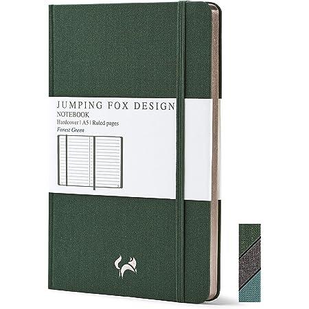 /'take a leap/' journal featuring postage stamp parachutist \u2022 Pocket size 4x6 travel adventure cahier A6 ruled notebook \u2022 Parachute landing