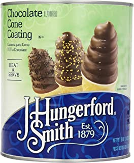 J. Hungerford Smith Cone Coating, Chocolate, 6 Pound and 13 Ounce Tin