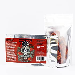 Mad Dog 357 Dried Carolina Reaper Peppers (7 grams)