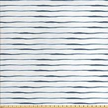 wide horizontal stripe fabric