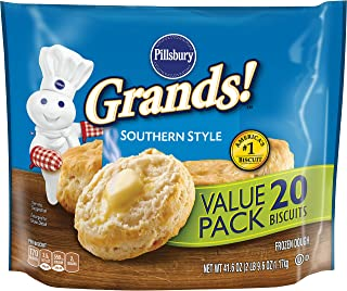 Pillsbury Grands!, Southern Style, 20 Frozen Biscuits, 41 oz. Bag