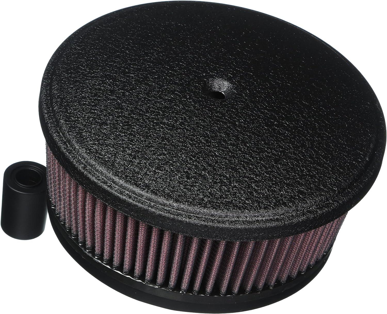 Arlen Ness 18 821 Black Big Sucker Stage Ii Luftfilter Kit Mit Abdeckung Auto