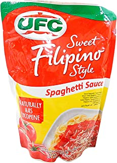 UFC Spaghetti Sauce, Sweet Filipino Blend, 500g pouch (pack of 2)