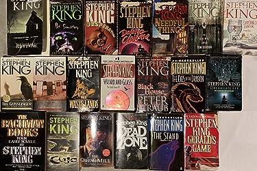 Stephen King Novel Collection 22 Book Set