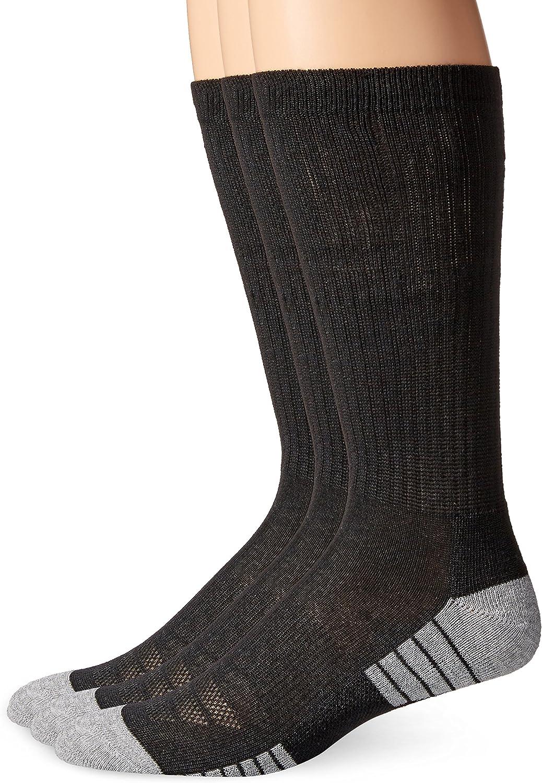 Under Armour Adult HeatGear Tech Crew Socks, 3-Pairs