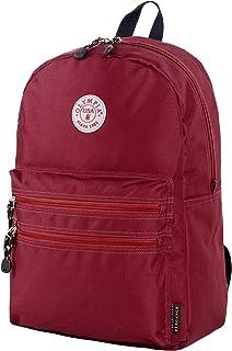 "Olympia Princeton 18"" Backpack, Burgundy, One Size"