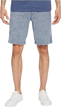 """Beach Linen 10"""" Flat Front Shorts"""