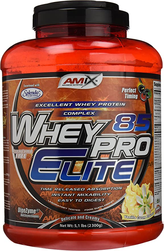 Amix Wheypro Elite 85 Proteínas - 2300 gr_8594159531260 ...