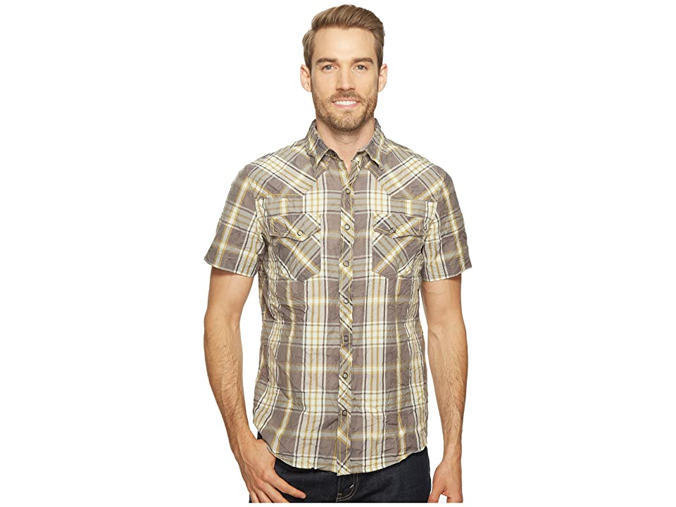 Ecoths Donovan Short Sleeve Shirt (Smoked Pearl) Men
