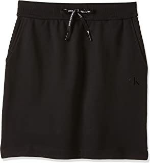 Calvin Klein Jeans Women's Branded Drawcord Skirt
