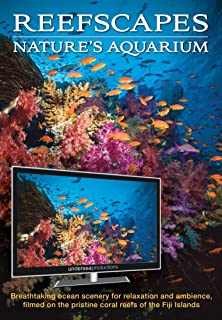 Reefscapes: Nature's Aquarium DVD, nature video of tropical fish and coral reefs..