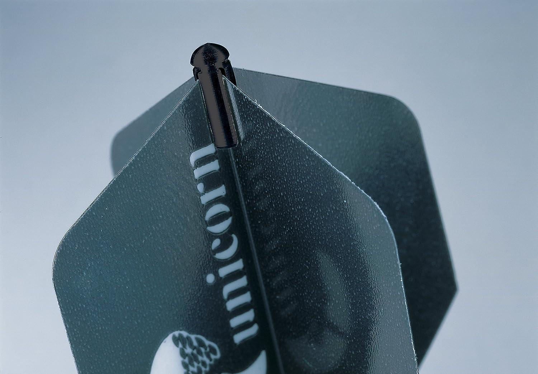5 x Sets Manufacturer regenerated product Unicorn Protectors 5 ☆ very popular Flight Black Dart