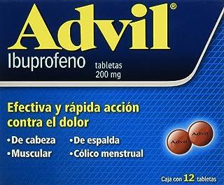 Advil Grageas, 200 mg, 12 Piezas