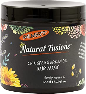 Palmer's Natural Fusions Chia Seed & Argan Oil Hair Mask, for Deep Repair and Hydration; 9.5 oz.
