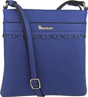 B BRENTANO Vegan Medium Crossbody Handbag Purse