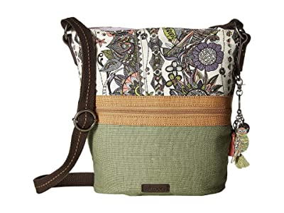 Sakroots Artist Circle Soft Bucket (Pastel Spirit Desert) Handbags