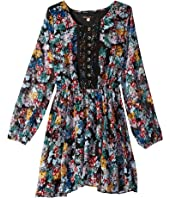 Ella Moss Girl - Flora Printed Peasant Dress (Big Kids)