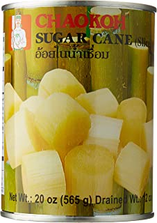 Chaokoh Sugar Cane in Syrup, 19 Ounce (Pack of 24)