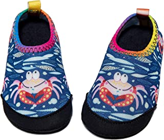 Panda Software Baby Boys Girls Water Shoes Infant Barefoot Quick -Dry Anti- Slip Aqua Sock for Beach Swim Pool