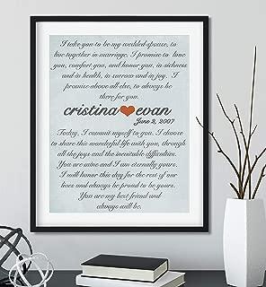 Best wedding vow display Reviews