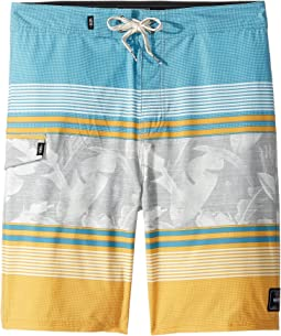 Bonsai Stripe Boardshorts (Little Kids/Big Kids)