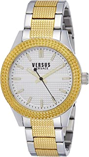Versus by Versace Womens SOJ110015 Bayside Analog Display Quartz Two Tone Watch