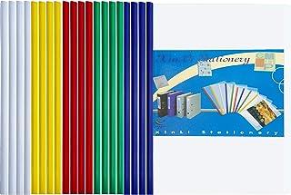 Dossier de Fichiers 20PCS A4 Rapport Affichage Couverture Organisateur Binder Barre Coulissante Rapport Couvre Pour L'écol...