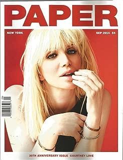 Paper Magazine (September 2014, Courtney Love Cover)