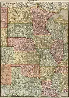 Best vintage denver map Reviews