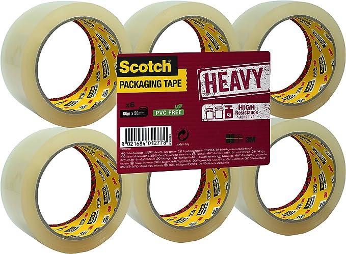 3545 opinioni per Scotch Nastro da Imballo 3M Packaging Tape Heavy/Nastro Adesivo Ultra