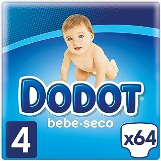 Dodot Bebé-Seco Pañales Talla 4, 64 Pañales, el unico Pa